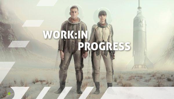 Banner des Deutschen Jugendfilmpreises: Work in progress