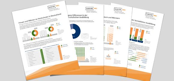 Grafik mit Faktenblättern
