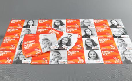 Flyer zum Girls'Day