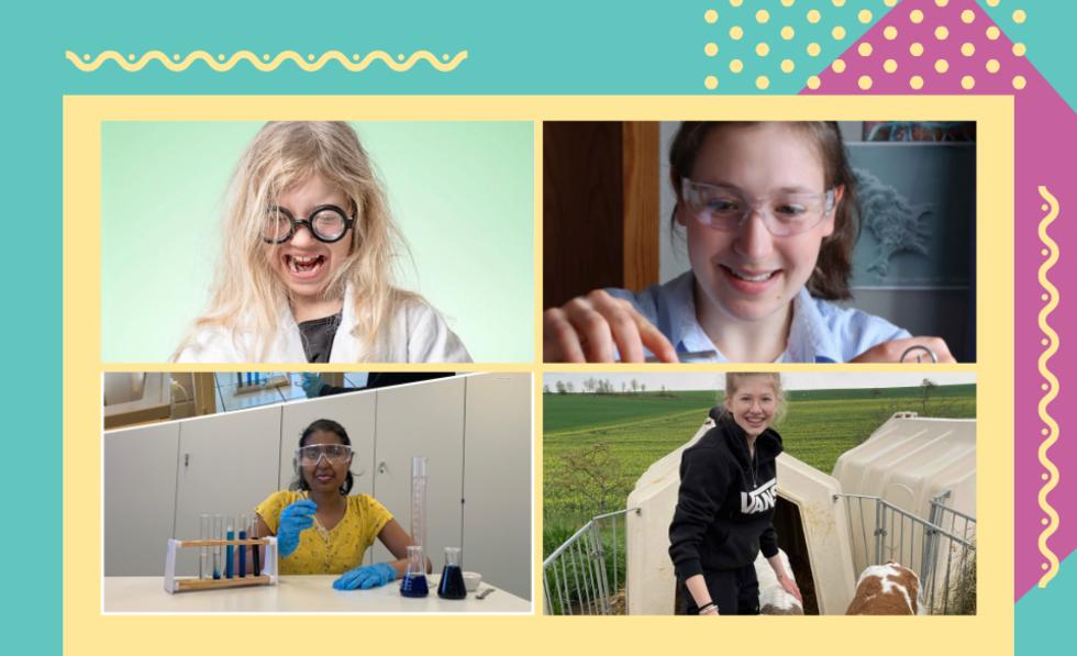 Bilder der Gewinnerinnen des girlsdaypower-Wettbewerbs
