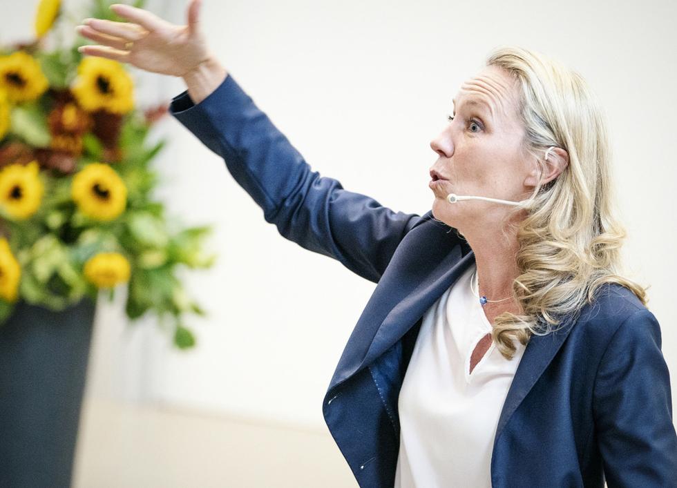 Nach der Pause geht es weiter mit derMotivationsfrau Nicola Fritze.