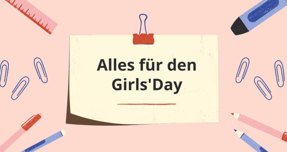 Grafik Alles für den Girls'Day