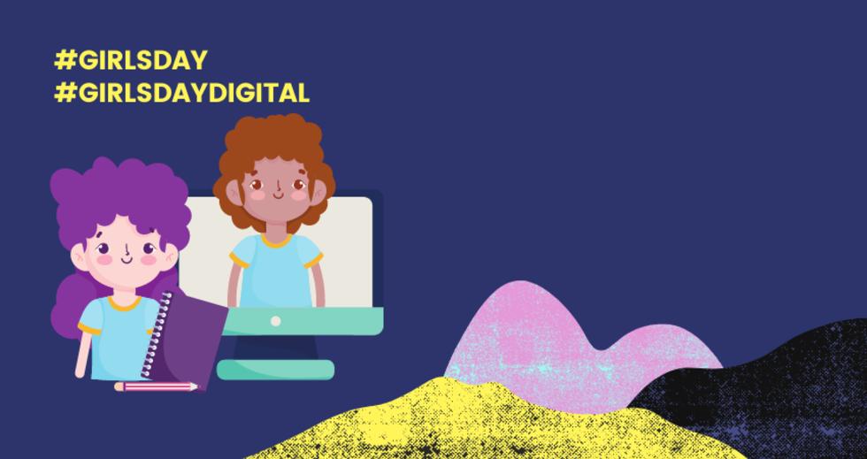 Grafik zum Girls'Day digital