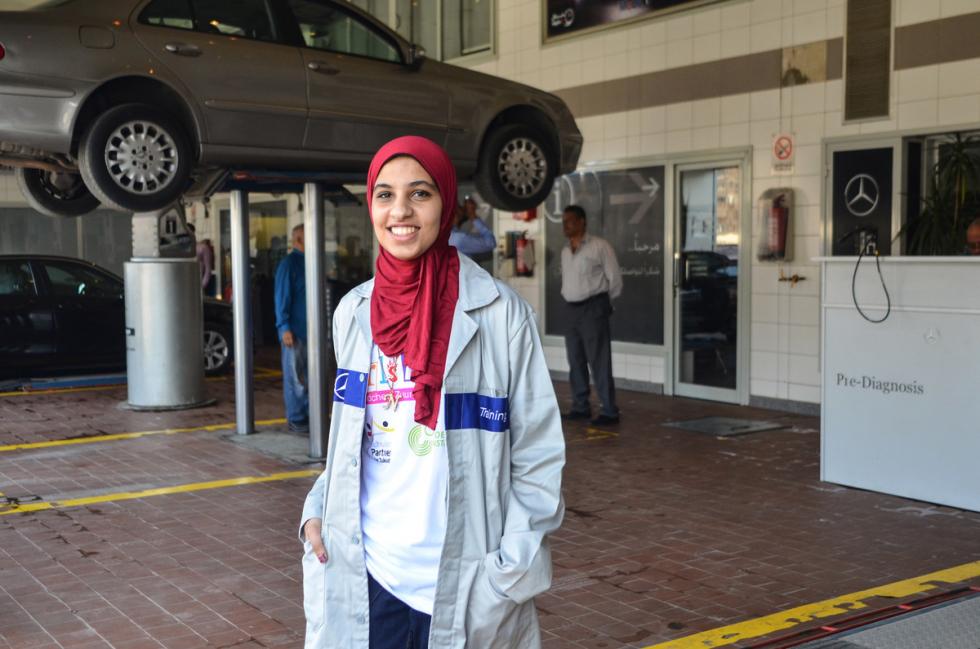 Girls'Day in Ägypten 2016